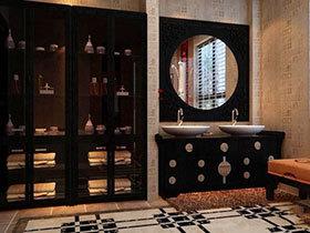 11张黑色浴室柜设计图 稳重大气
