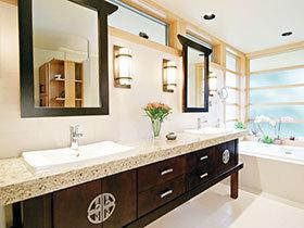 12张狭长型浴室柜效果图 尊贵大气