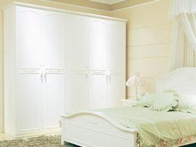浪漫从衣柜开始 13款田园衣柜设计