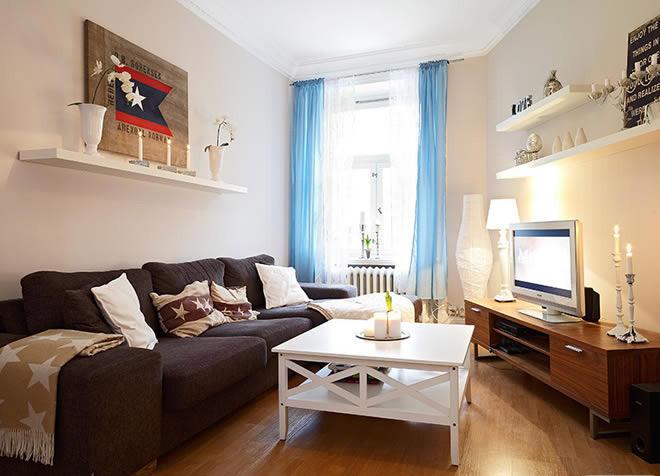 洁白温馨客厅设计