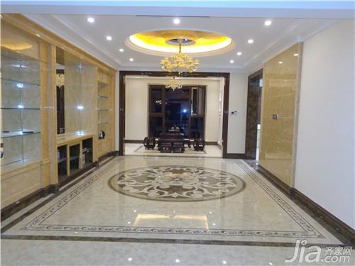 正文  主要用砖:高德瓷砖晶花玉石,九号微晶等 应用空间:客厅,大厅