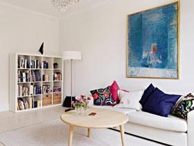 巧用装饰画点缀 15款沙发背景墙效果图