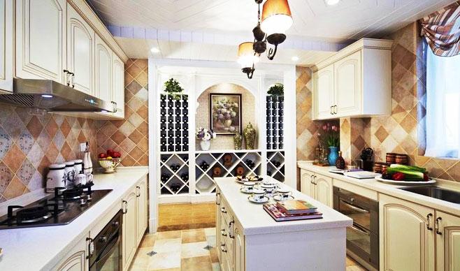 欧式厨房灯具效果图