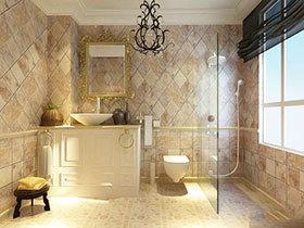 精致浴室柜效果图 16款小型浴室柜设计