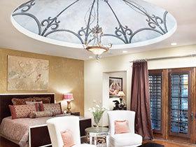 清新简约卧室设计 15张时尚吊顶效果图