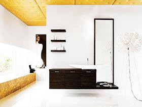 13张黑色浴室柜设计图 稳重大气