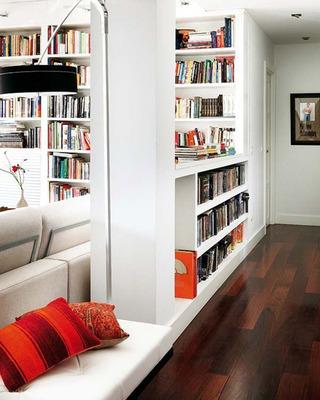 大容量书柜书架设计效果图