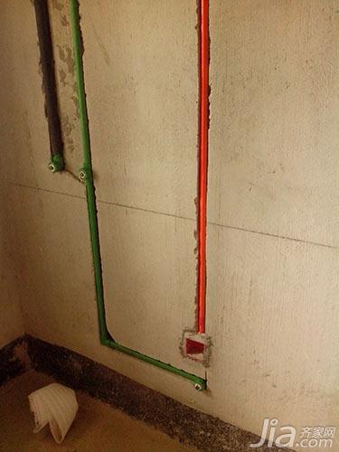 装修师傅的130㎡公寓水电施工日记 2高清图片