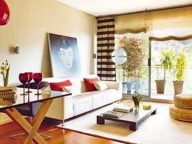 温馨现代日式两居室 在家里进行精神旅行