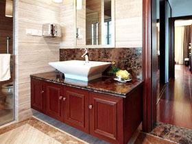 11張紅色浴室柜效果圖 經典不落伍
