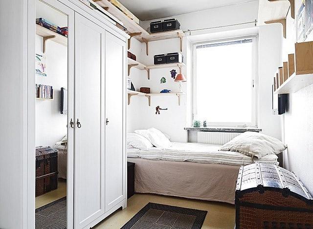 简约白色小卧室效果图