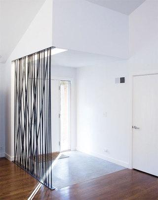 黑色镂空隔断设计图