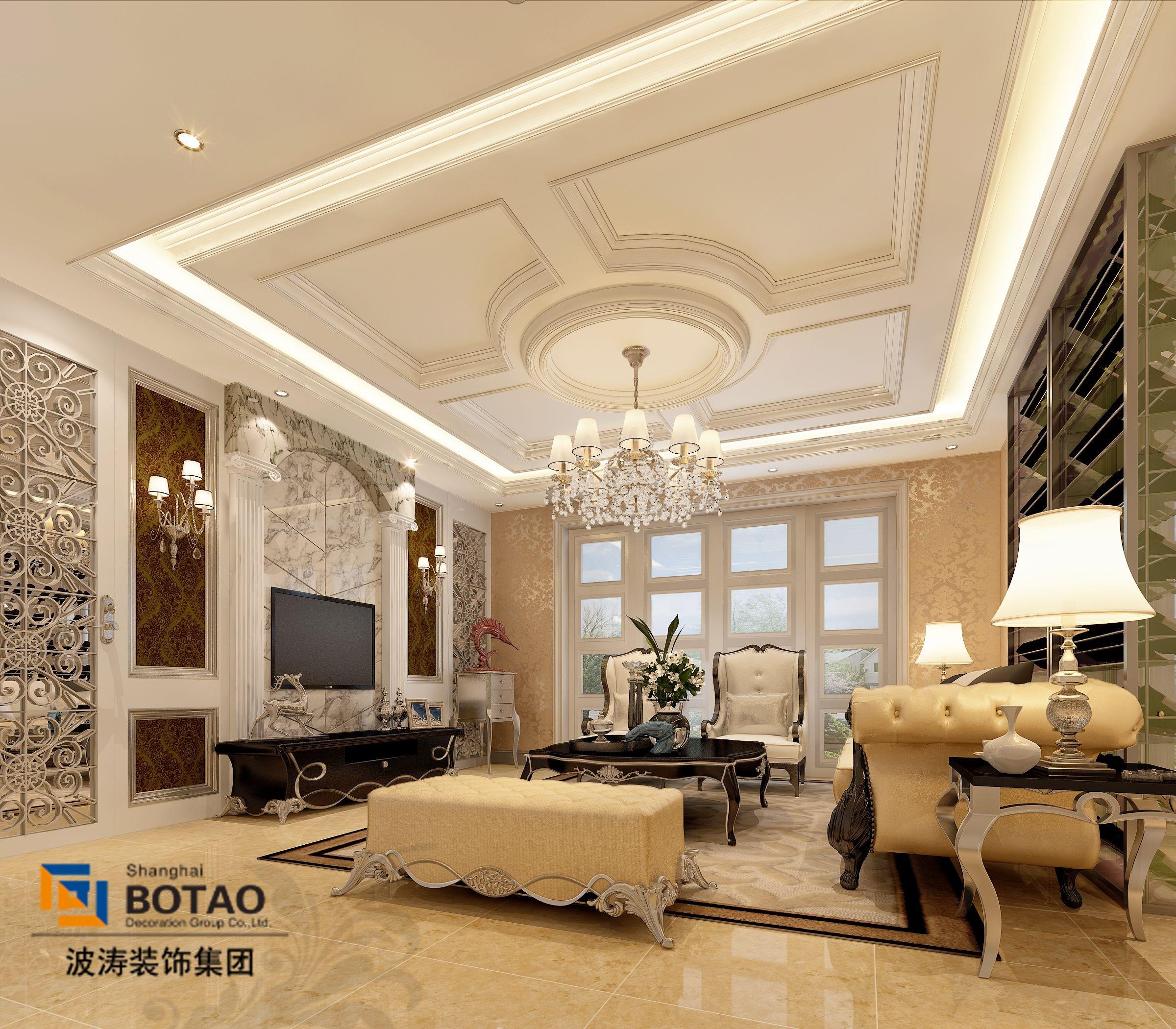 欧式装修效果图,室内设计效果图-齐家装修网图片
