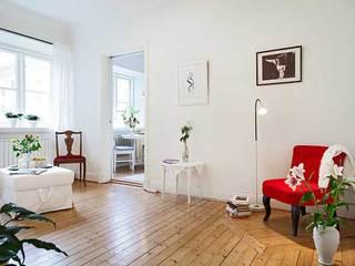 北欧温馨客厅设计效果图