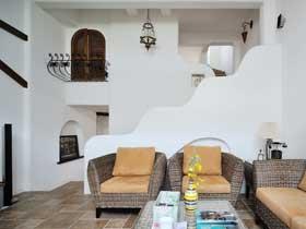 混搭風格25萬三居室裝修 精致聯排別墅效果圖
