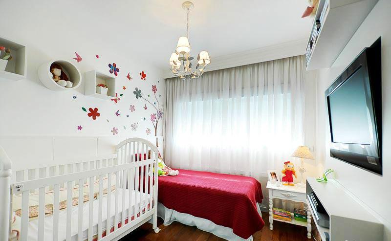 可爱女生卧室装修设计
