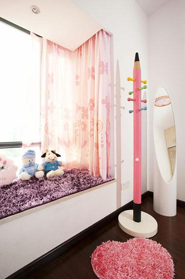 现代简约卧室手绘效果图