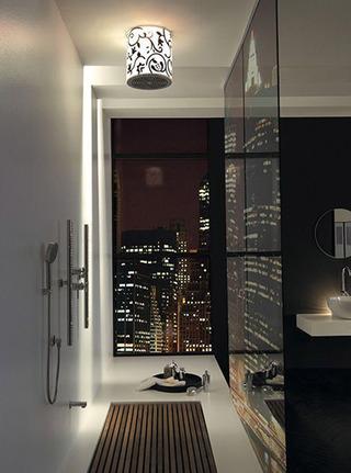 现代时尚卫生间吊顶效果图