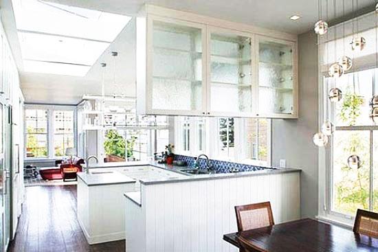 厨房隔断柜效果图高清图片