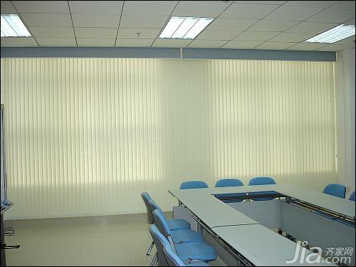 办公室窗帘效果图二