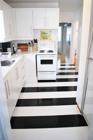 白色厨房效果图