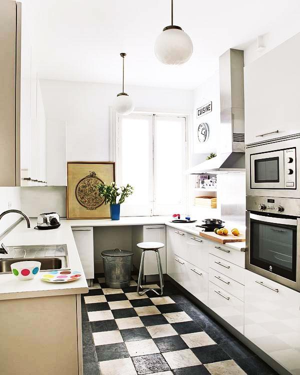 小型厨房效果图