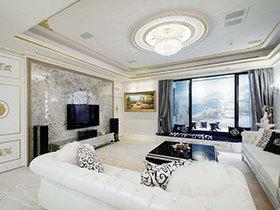 12张欧式客厅吊顶效果图 尊贵典雅