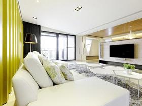 展现客厅风采 14款简约电视背景墙设计图