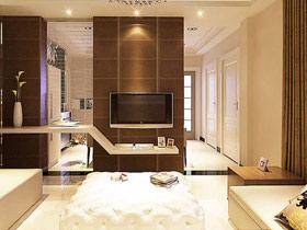 电视背景墙设计 12款中式客厅效果图