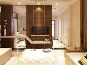 电视墙装修效果图大全 12款中式客厅效果图