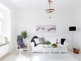 纯净小清新北欧风情公寓效果图 钱不够这样装妥妥的