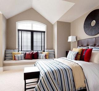 卧室飘窗装修效果图大全2013图片