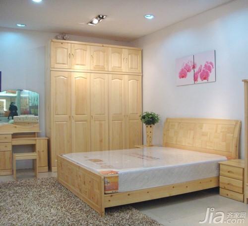 """由徐州贵人缘松木家具有限责任公司打造的""""人缘""""品牌松木家具设计简洁"""