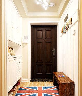 美式进门玄关设计