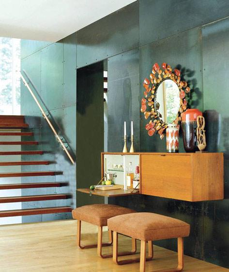 实木镂空楼梯设计