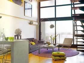 多元素艺术混搭LOFT小公寓 小空间也能盛放梦想