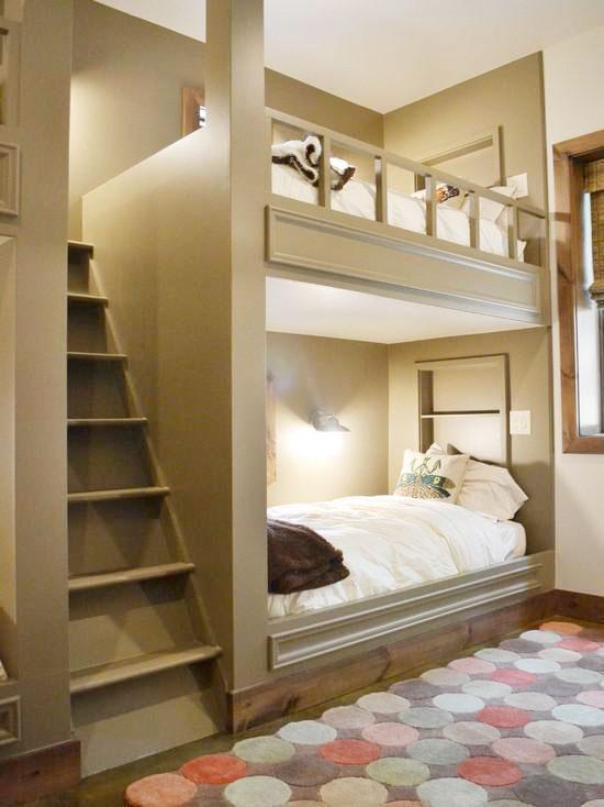 15张双层床图片 时尚大气 齐家网装修效果图
