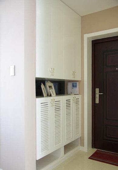 白色简约玄关玄关设计