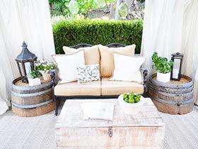 别墅小花园效果图 小空间大魅力