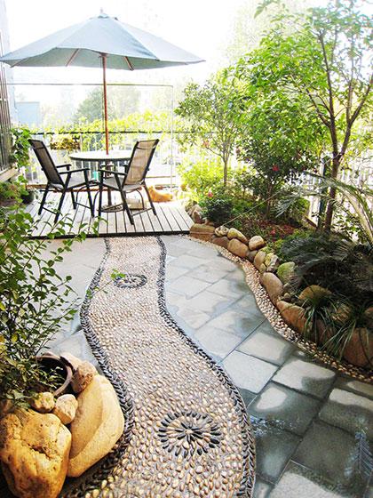 露台花园装修效果图