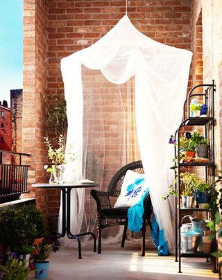 露台空间花园设计效果图