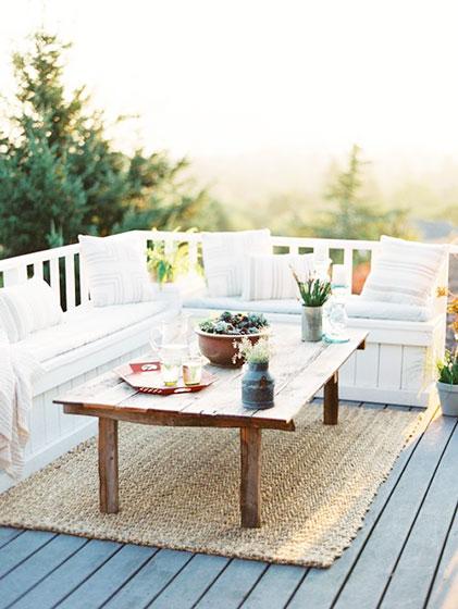 露台花园设计效果图