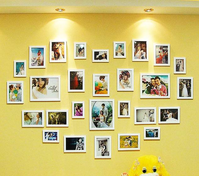 婚纱照照片墙怎么选_婚纱照五套风格怎么选