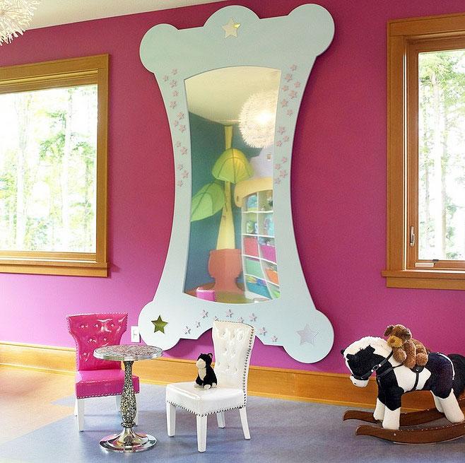 儿童房间背景墙效果图