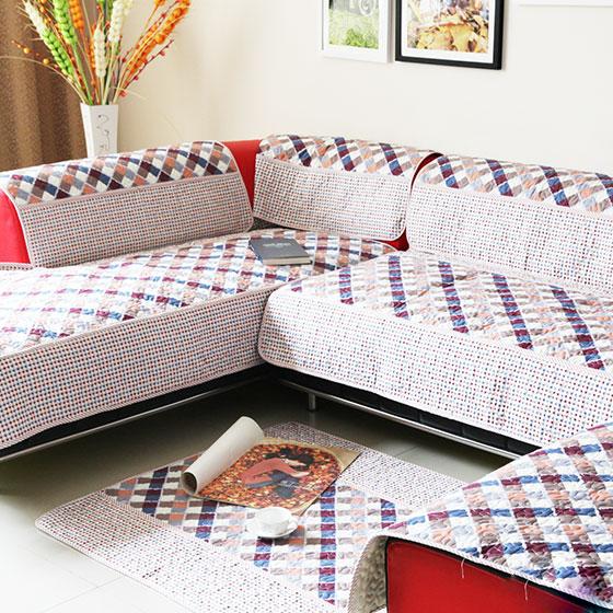 布艺沙发坐垫图片