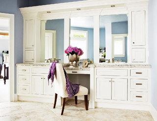 卫生间梳妆台图片