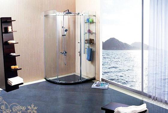小型淋浴房效果图