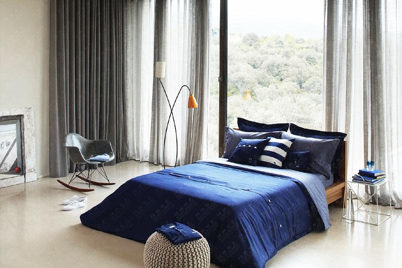 现代简约风格简洁窗帘图片