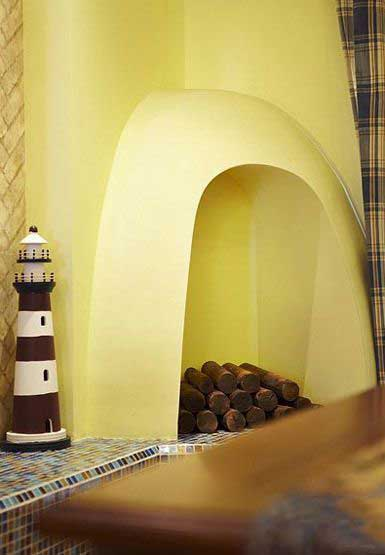 三居室温馨暖色调20万以上130平米设计图
