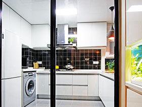 厨房隔断门设计 13图空间隔断妙法